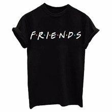 NiceMix Friends T-Shirt Unisex Short Sleeve Women Printed Tee Men`s Cotton TV Show Shirt wholesale tees custom printed tshirt