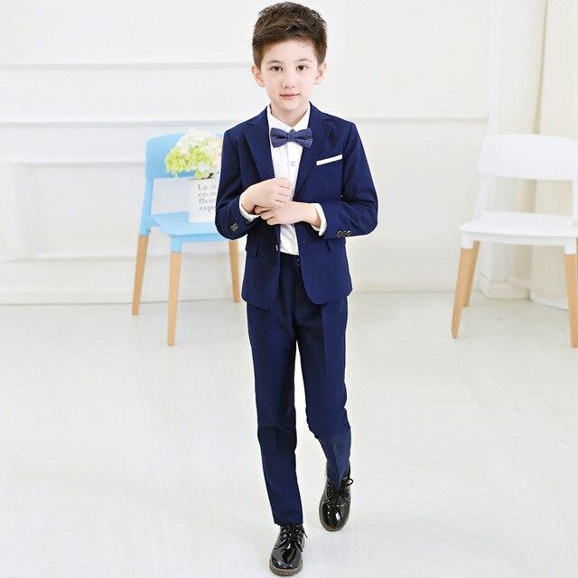 4963903b4af4 Ragazzi Giacche Capretti del Vestito del Ragazzo Vestiti per Matrimoni  Giacca + Camicia + Cravatta +