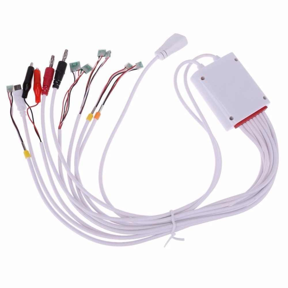 Telefono cavo di potere corrente di prova 8 in 1 di Apple Scheda di Attivazione di Carica Della Batteria Per il iPhone 7 6 6S Plus 5 5C SE 5S 4 4S Strumento di Riparazione