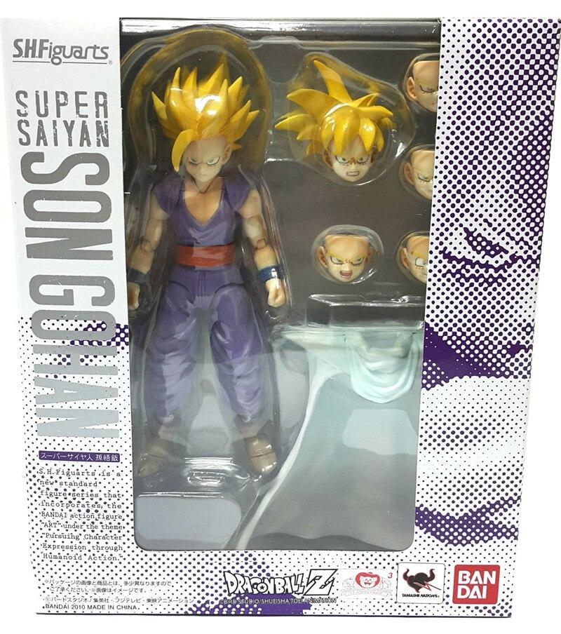 ขาย DRAGONBALL Dragon Ball Z Original BANDAI Tamashii Nations SHF/S. h. figuarts Action Figure Super Saiyan Son Gohan-ใน ฟิกเกอร์แอคชันและของเล่น จาก ของเล่นและงานอดิเรก บน   2