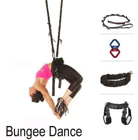 Bungee Dance Workout Fitness Training Cord Pilates Elastic Suspension Sling Trainer Gravity Yoga Pull Rope Exercise Equipment