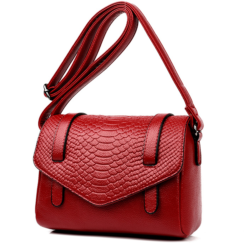 small handbag women Genuine Leather Crocodile shoulder bag women messenger bags red Serpentine ladies hand bags 2018 luxury bag japanese pouch small hand carry green canvas heat preservation lunch box bag for men and women shopping mama bag
