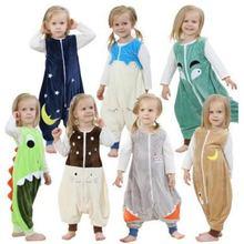 7 видов конструкций 3 размера Детские спальные мешки, спальные комбинезоны для малышей, Детские спальные мешки slaapzak