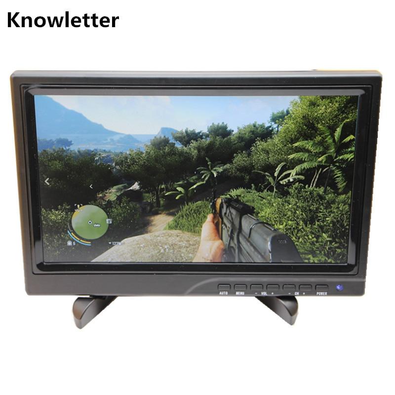 10,1 ''widescreen 1366x768 Ips Led-panel 1080 P Monitor Unterstützung Hdmi Spielkonsole/raspberry Pi HöChste Bequemlichkeit