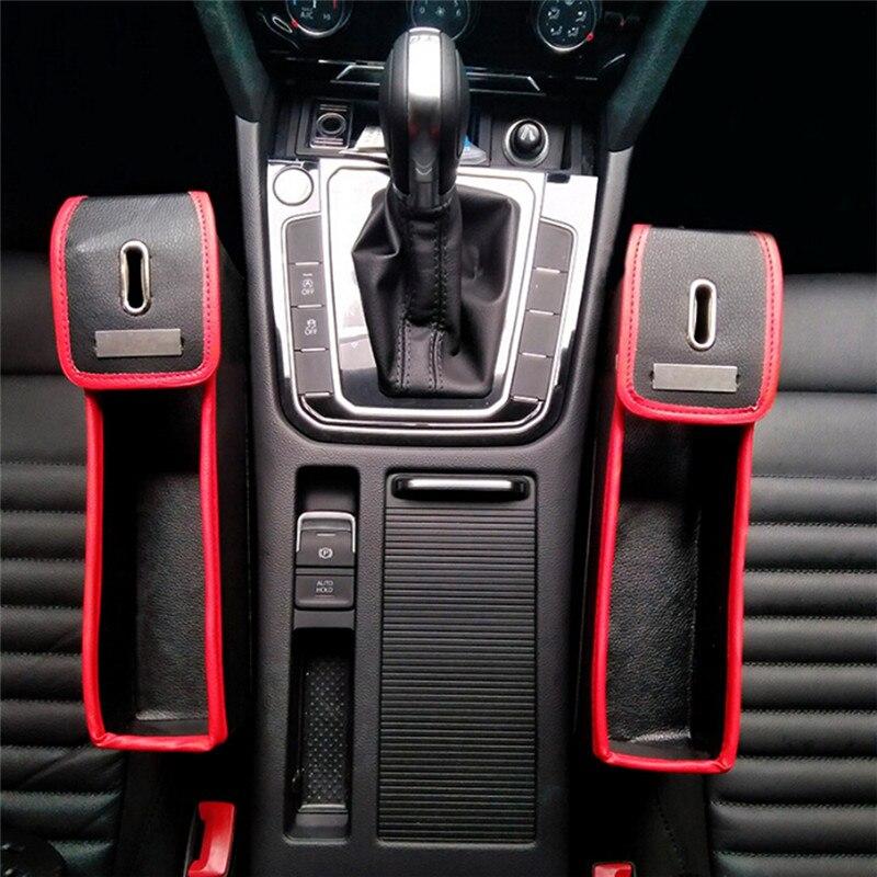 Effektive Nutzung Von Raum Auto Sitz Spalt Lagerung Box Tasse Trinken Halter Organizer Auto Lücke Tasche Verstauen Hohe Qualität