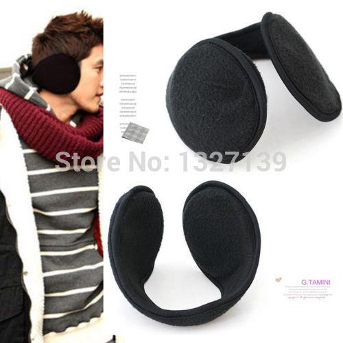 2014 Women Men Winter Ear Warmers Behind The Ear Style Fleece Muffs
