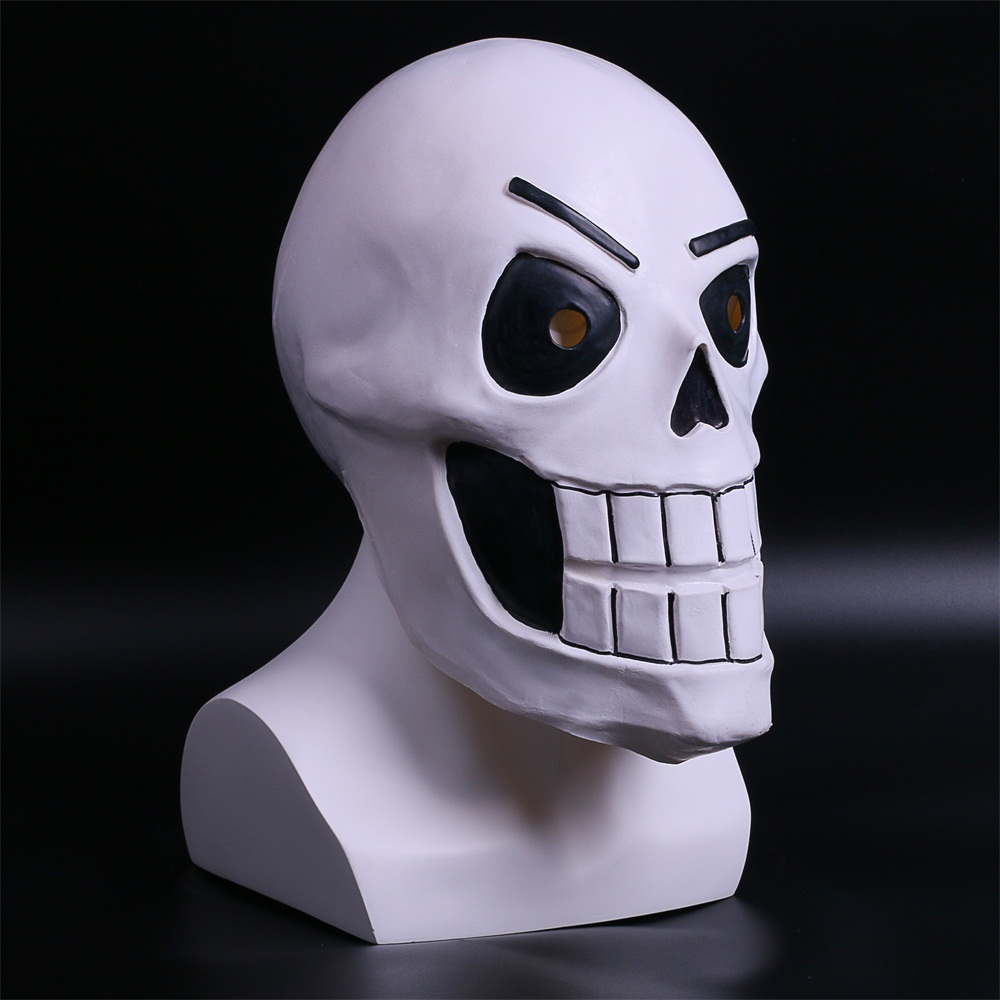 1:1 Halloween Costume Cosplay Movie Game Prop Mask Sans Undertale Helmet Hard Latex Cosplay Sans Papyrus Helmet Full Head Masks