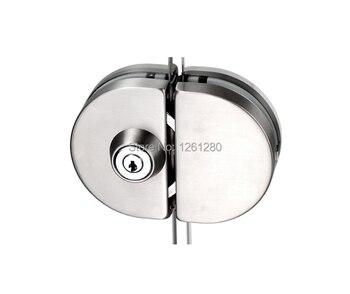 free shipping glass door lock security lock House Ornamentation Door Hardware Lock stainless steel lock