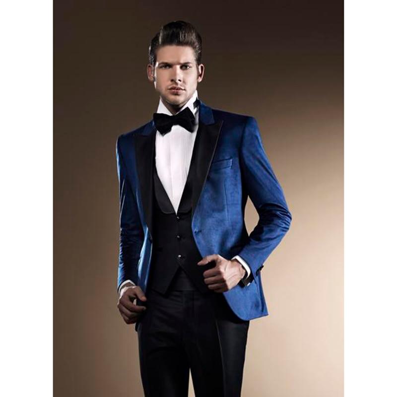 2017 latest costume homme royal blue men suit terno slim. Black Bedroom Furniture Sets. Home Design Ideas