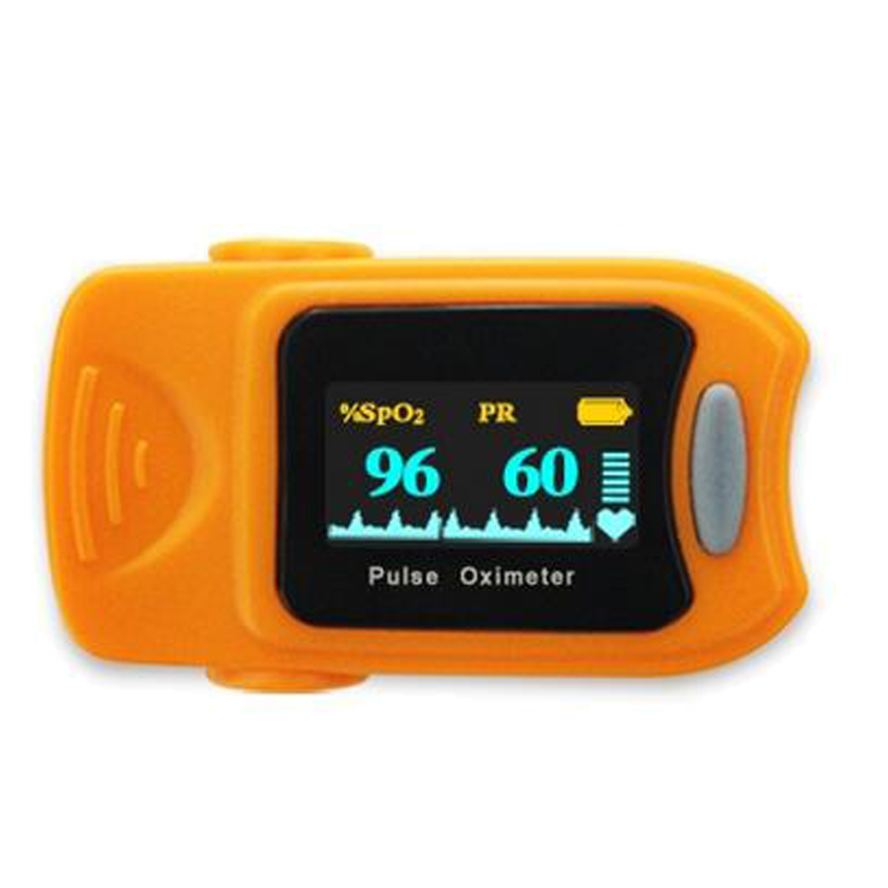 Fingertip Pulse Oximeter Colour OLED display With 4 Directions