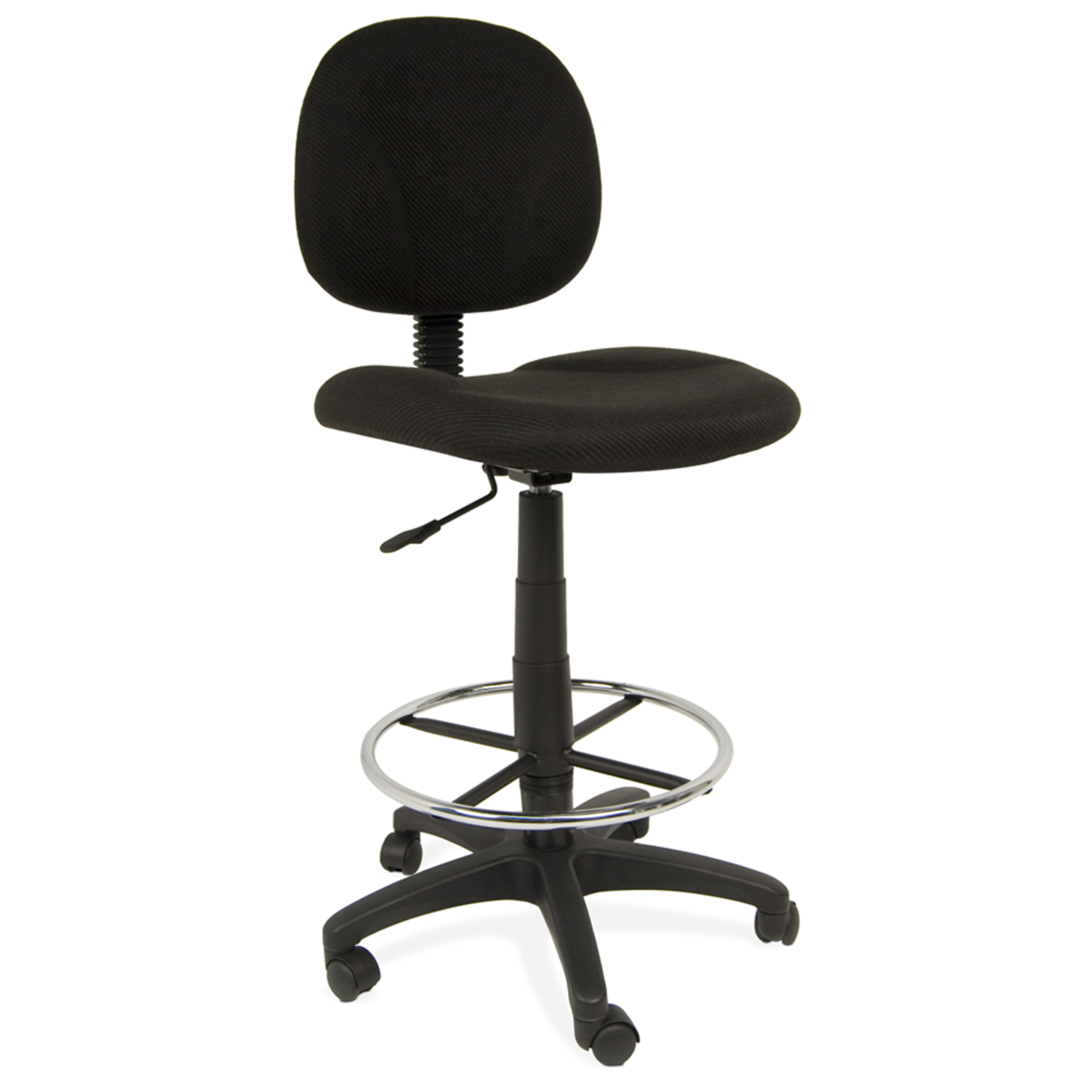Offex Home Office Ergo Pro Chair - Black offex home office plinth ottoman latte