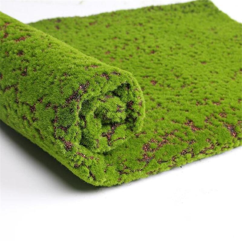 1Meter square fake Turf mat Green Artificial Lawns Turf Carpets Fake Sod Home Garden Moss home Floor DIY wedding Decoration