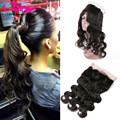 360 Lace Frontal Brazilian Body Wave Lace Frontal Closure 360 Lace Frontal Pre Plucked Free Shipping Brazilian Body Wave Frontal