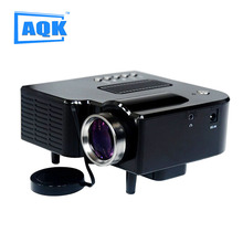 Promocional Mini AV LED Proyector Digital HDMI Entradas convenientes apoyan A/V USB y SD dvds Envío gratis