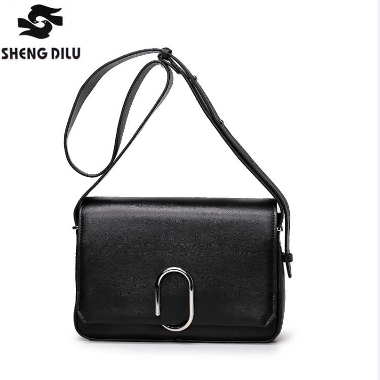 Fashion Brand Genuine Leather Messenger Bag Famous Brand Women Shoulder Bag Envelope Women Clutch Bag Small Crossbody bag new punk fashion metal tassel pu leather folding envelope bag clutch bag ladies shoulder bag purse crossbody messenger bag