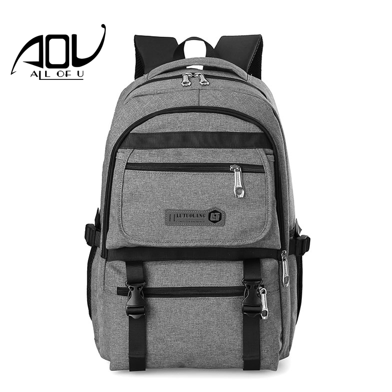 2018 Vintage Men Nylon Backpacks Male School Bags for Teenagers Boys Large Capacity 14inch Laptop Backpack Fashion Men Backpack wireless multi function door sensor magnetic window detector for security alarm system automatic door sensor 433mhz