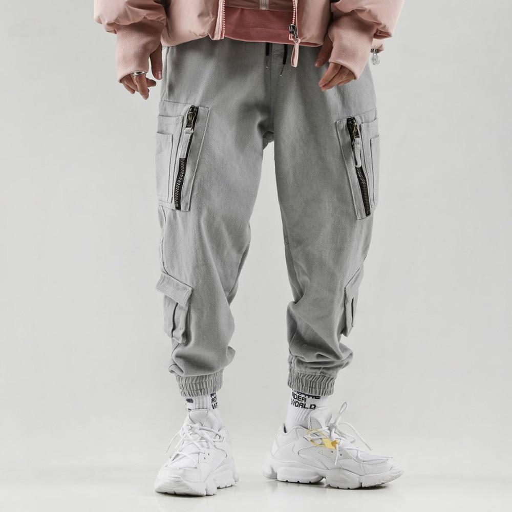 Harem Pants Male Modis Hip Hop Dance Pants Harajuku Loose Pants Sliding Plate Trousers Men Streetwear Joggers Fashion Casual