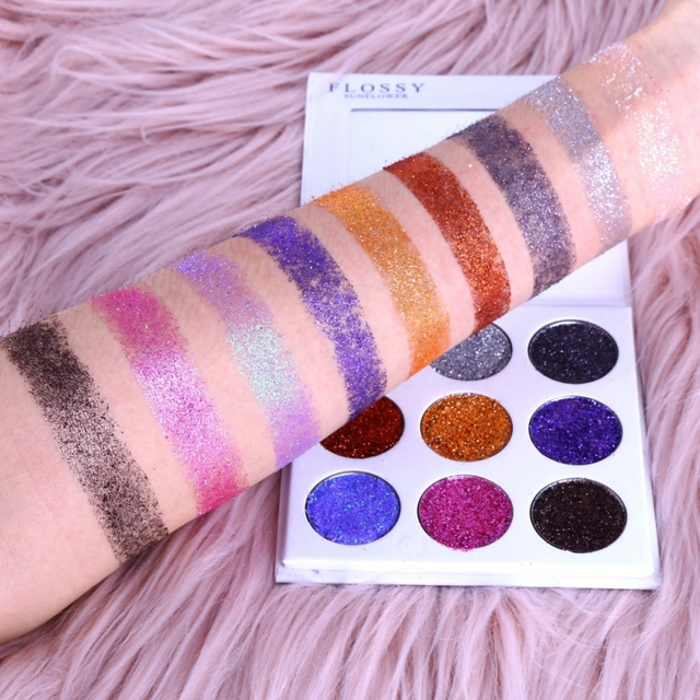 Shimmer Matte With Mirror Eye Shadow Make Up Palette Maquiagem Makeup Eyeshadow Pallete  9 colors