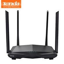 Tenda AC6 Беспроводной Wi-Fi маршрутизатор 1200 м двухдиапазонный 2,4 ГГц/5,0 ГГц 11AC Беспроводной Wi-Fi повторитель 802.11ac Smart Remote приложение управление