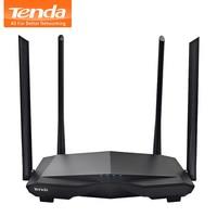 Tenda AC6 Wireless Wifi Router 1200M Dual Band 2.4GHz/5.0GHz 11AC Wireless Wi Fi Repeater 802.11ac Smart Remote APP Manage