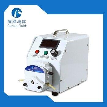 Speed Display Flow Adjustable Laboratory Peristaltic Pump 0-1700ml/min Liquid Metering 110v-220v dc motor max 2280ml min liquid transfer peristaltic pump speed 600rpm