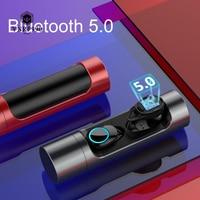Tragbare IPX6 Wasserdichte Mini Drahtlose Ohrhörer Bluetooth Ohrhörer Inear Sport Kopfhörer audifonos para celular
