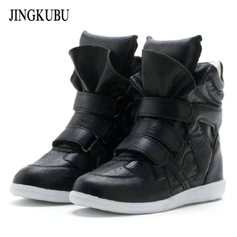 Hot sale New white women Fashion Boots European American style Increased Casual Shoes woman high quality warm women's snow boots