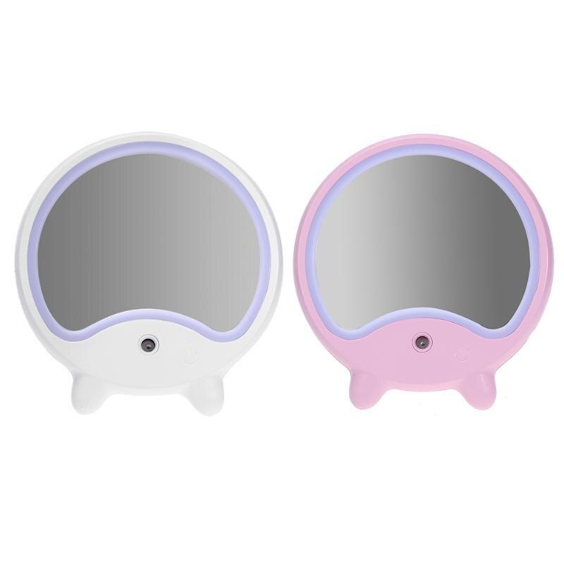 Светодиодное освещение, лампа зеркало для макияжа USB настольный и портативный спрей для воды увлажняющий увлажнитель лица