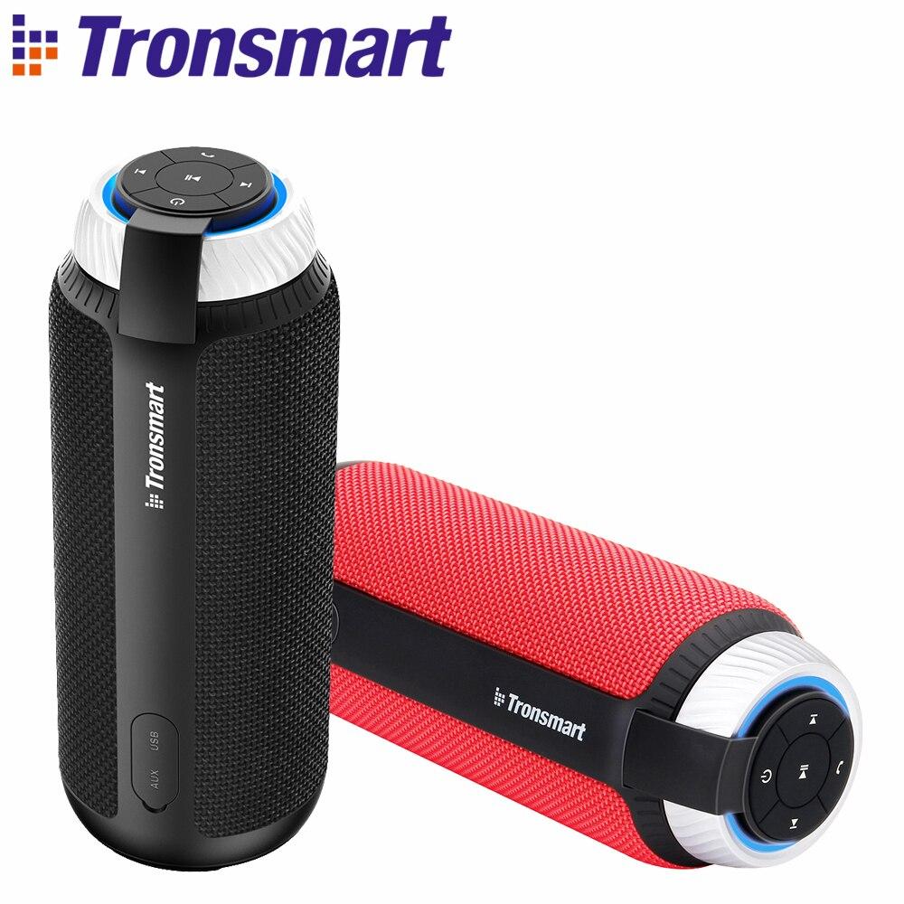 [En Inventaire] Tronsmart Élément T6 Bluetooth 4.1 Sans fil de haut-parleur de Barre De Son Récepteur Audio Mini Haut-parleurs USB AUXILIAIRE pour La Musique MP3 Joueur