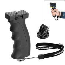 Macchina fotografica Portatile Grip Video Vlog Hand Grip Stabilizzatore Titolare Treppiede Monopiede Supporto di Mano Per Sony HDR AS300 AS200 AS100 AS50