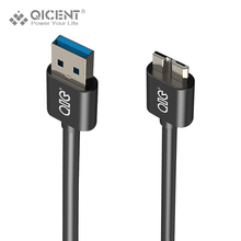 QICENT Micro USB 3.0 Cable Fast Charging Mobile Phone Cable 1 Meter for Samsung Note 3 note3 cable S5 (MCR3-B10)