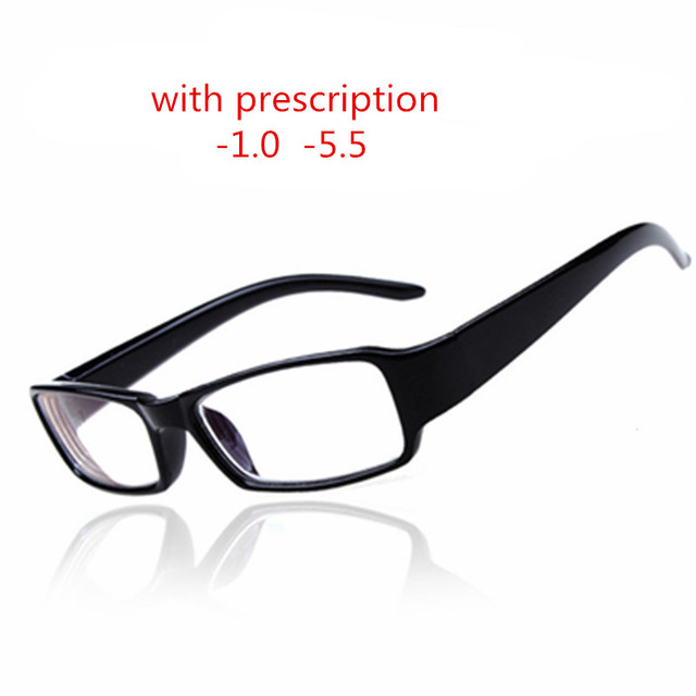 c39008b627 myopia glasses Men Women reading Eyeglasses myopia frame Lens prescription  optical astigmatism diopters -1 to- 6.0