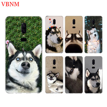 Husky Funny New Shell Phone Back Case For OnePlus 7 Pro 6 6T 5 5T 3 3T 7Pro 1+7 Art Gift Patterned Customized Cases Cover Coque