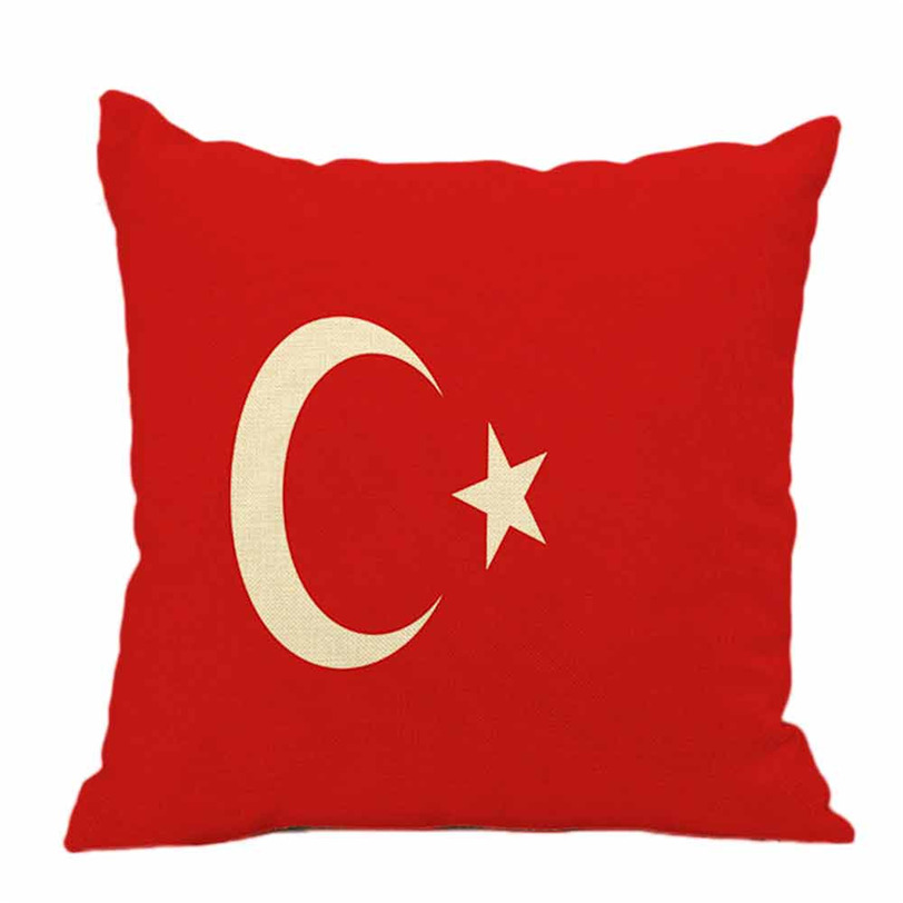 National Flag Pillow Cases Linen Sofa Cushion Cover Home Decor Aug30 Professional Factory price Drop Shipping 80329