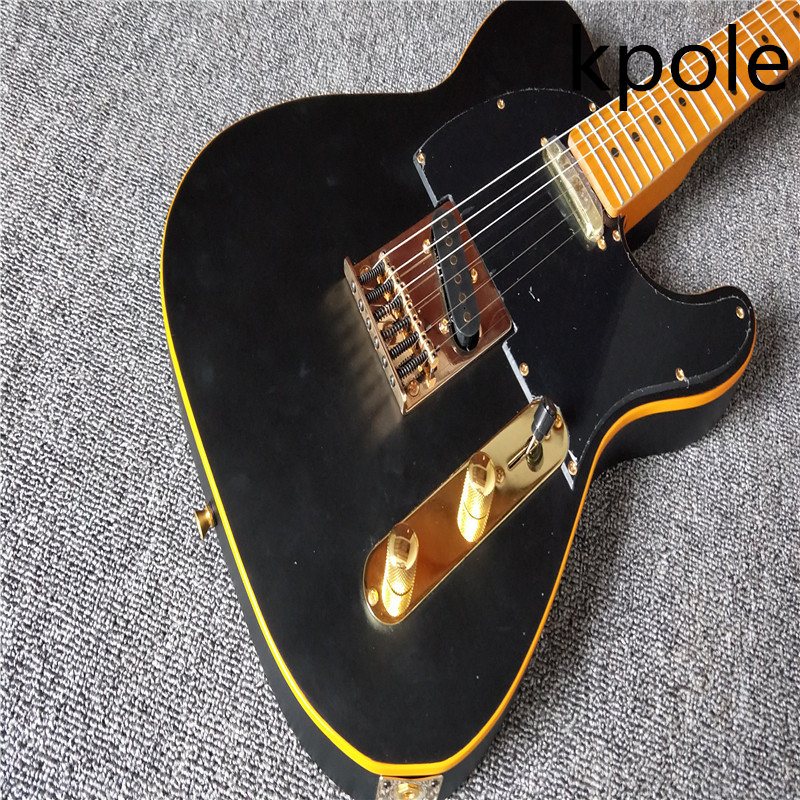 electric guitar black color electric guitar kpole tl good sound guitar guitar in china in guitar. Black Bedroom Furniture Sets. Home Design Ideas