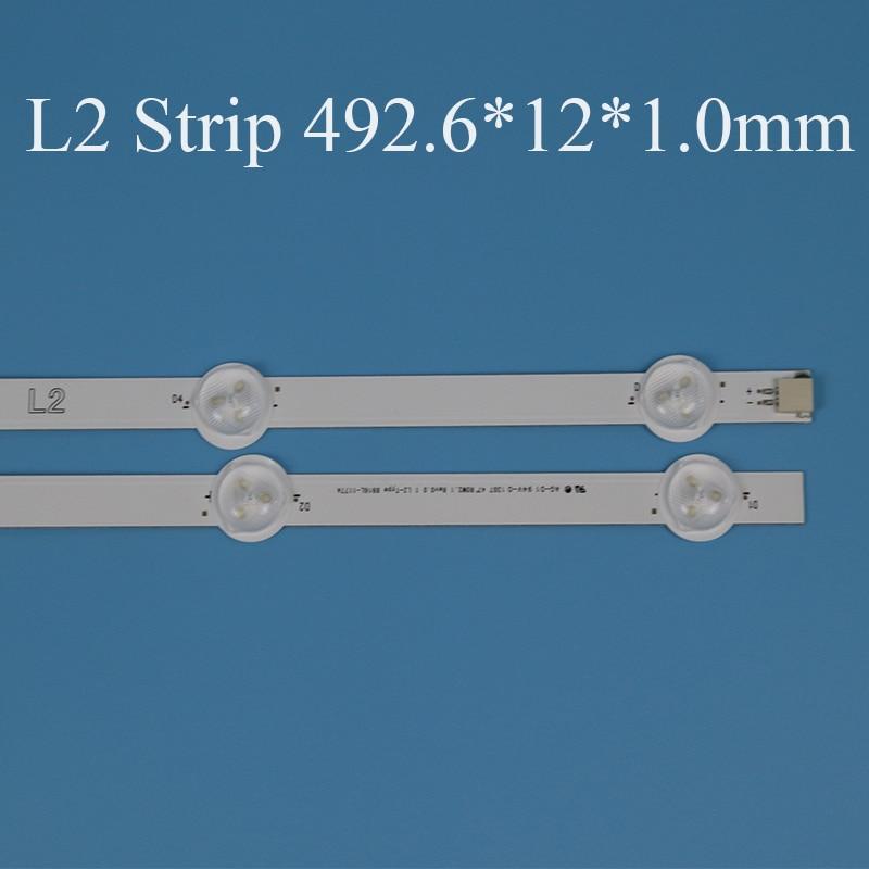 cheapest TV LED Backlight Strip For LG 47LN540V 47LN540U 47 inchs Backlight LED TV Bands Light Bars Lamps Strips Complete Set Replacement
