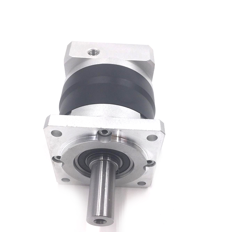 LRF60-100 NEMA 24 Planetary Gear Box Reducer Speed Ratio 100:1  Matched With 60mm Servo / Stepper Motor Original new planetary gear box pgl60 100 sesame double stage size 60 ratio 100 norminal output torque 25nm new