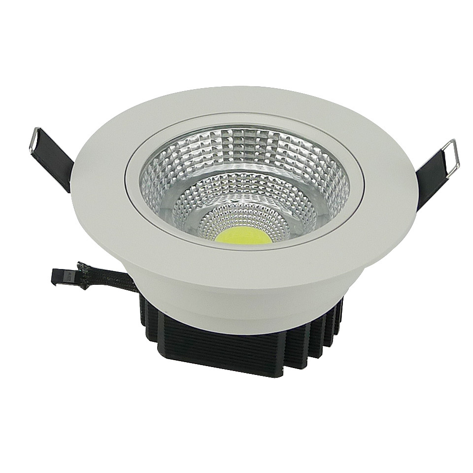 Dimmbare Led Spots Us 5 8 40 Off Dimmable Led Downlight 5w 10w 20w Cob Led Ceiling Recessed Downlight Spot Light Super Bright Plafond Down Light Warm Cold White In Led