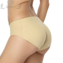 2016 ladies seamless panties women underwear butt hip up padded enhancer shaper woman sexy knickers soft lingerie underpants