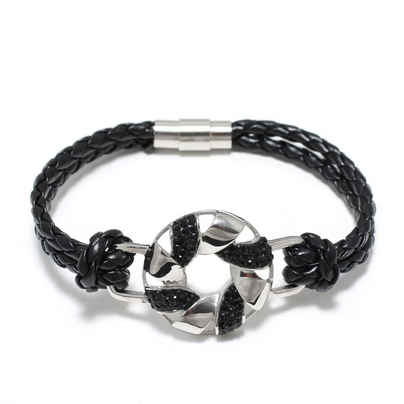 Aliexpress.com : Buy New Fashion Leather Charms Bracelet ...