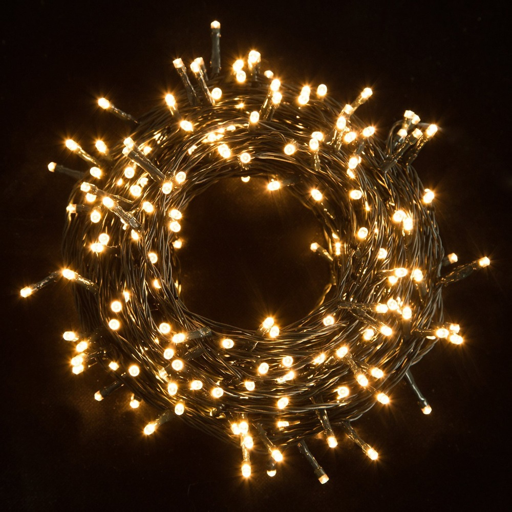 Lighting Of Christmas Tree 2014: 30M Waterproof 200 LED String Lights Safe Outdoor Fairy