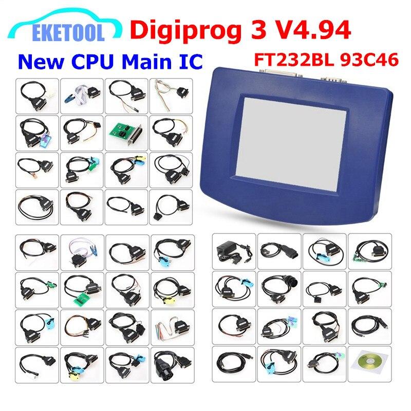 DHL Free Digiprog 3 V4 94 Multi Language OBD Version Full Sets FTDI Full Chip Original