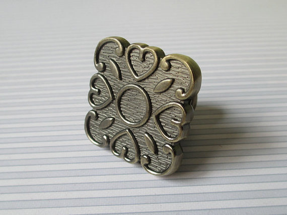 Dresser Knobs Pulls Drawer Pull Handles Square / Kitchen Cabinet Decorative Knobs Antique Bronze Vintage Furniture Hardware dresser pulls drawer pull handles square kitchen cabinet decorative knobs antique bronze vintage style furniture hardware