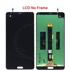 """Image 2 - 2560x1440 para 5.7 """"htc u ultra lcd screen display toque digitador assembléia peças de reposição para htc ocean note lcd + ferramentas"""