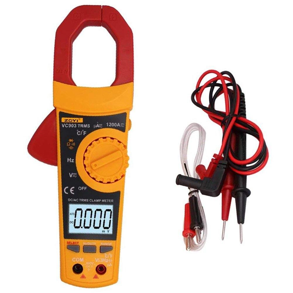 цена на ZOYI VC903 Digital Clamp Meter Multimeter AC DC Current Volt Ohmmeter Tester