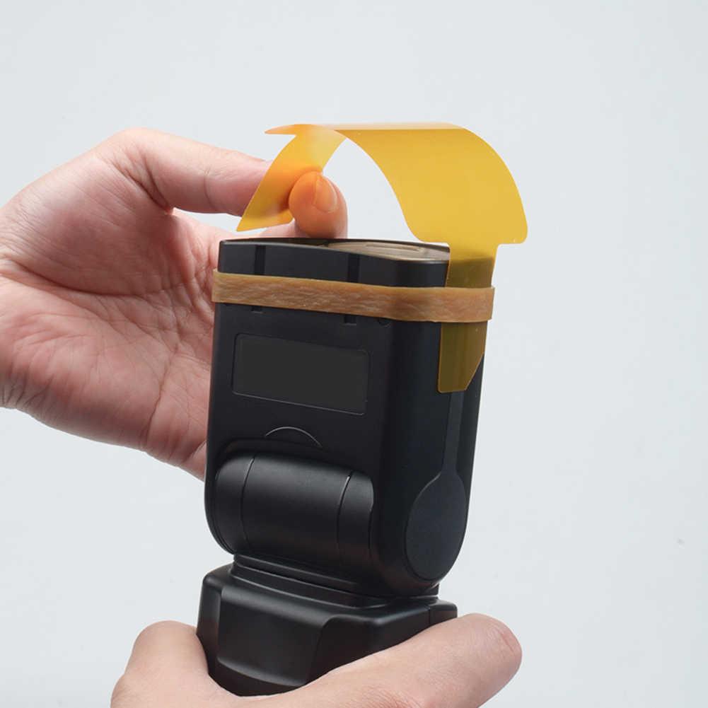 ALLOET 20 Chiếc đèn Flash Gel Màu Bộ Lọc Cho Canon Yongnuo DSLR Camera Tốc Phòng Thu Sáng Khuếch Tán Phụ Kiện