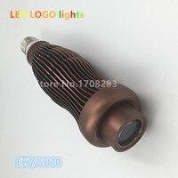 Logotipo LED de 5 W 7 W E27 GU10 proyector LED lámpara de proyección de luz de publicidad 110 V 220 V 8 unids/lote