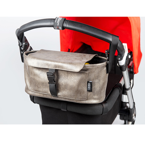 Image 5 - Pflege Ändern Tasche für Mutter Wasserdichte Windel Taschen für Kinderwagen Kupfer Rote Abdeckung Mode Tragbare Organizer Mutterschaft Taschen