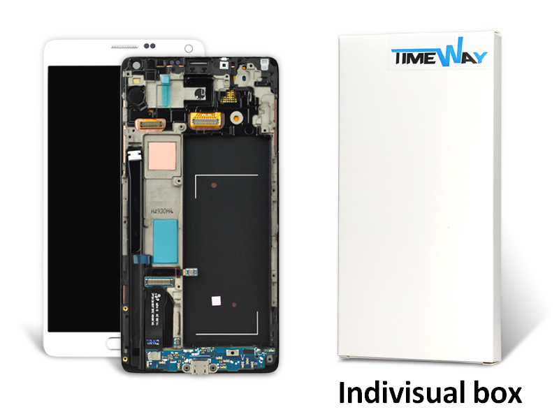 1PCS/LOT No dead pixel For Samsung Note 4 N9100 lCD Display with Touch Screen Glass Digitizer assembly With Frame Free Dhl 10pcs free dhl oem no spot quality 10 1 lcd display with touch screen panel digitizer assembly for samsung galaxy note n8000