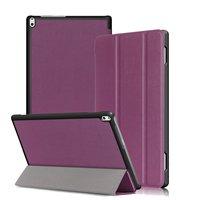 Case For Lenovo Tab4 10 Plus 2017 Ultra Slim Tri Fold Leather Protective Case For Lenovo